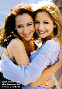 Really, REALLY hot pic of JLH and SMG