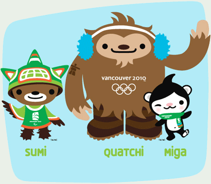 Vancouver 2010 Olympic Mascots